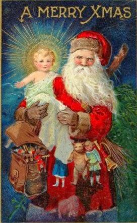 jesus and santa - Santa With Jesus